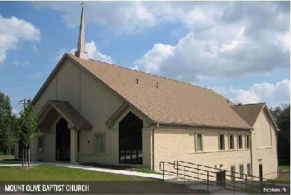 Mount Olive Baptist Church Construction by S. E. Smoker, Inc.